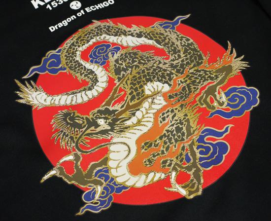 【戦国武将ジップパーカー】上杉謙信「龍」4